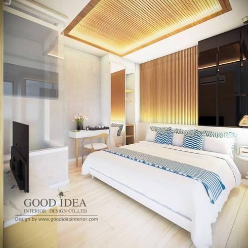 เมษาคอนโด (หัวหิน):   by GOOD IDEA INTERIOR CO.,LTD.