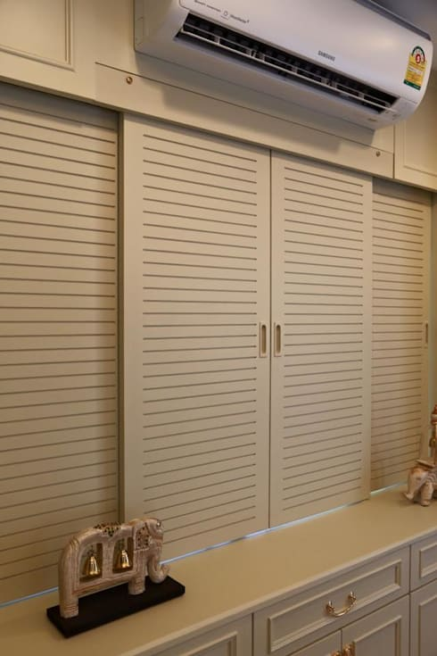 ห้องนั่งเล่น Good idea interior Co.,Ltd.:   by GOOD IDEA INTERIOR CO.,LTD.