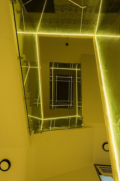 Looking Upward:  Corridor & hallway by Ankit Goenka