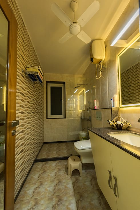 Sanchetna:  Bathroom by Ankit Goenka