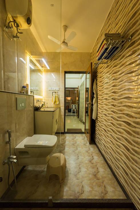 Sanchetna: modern Bathroom by Ankit Goenka