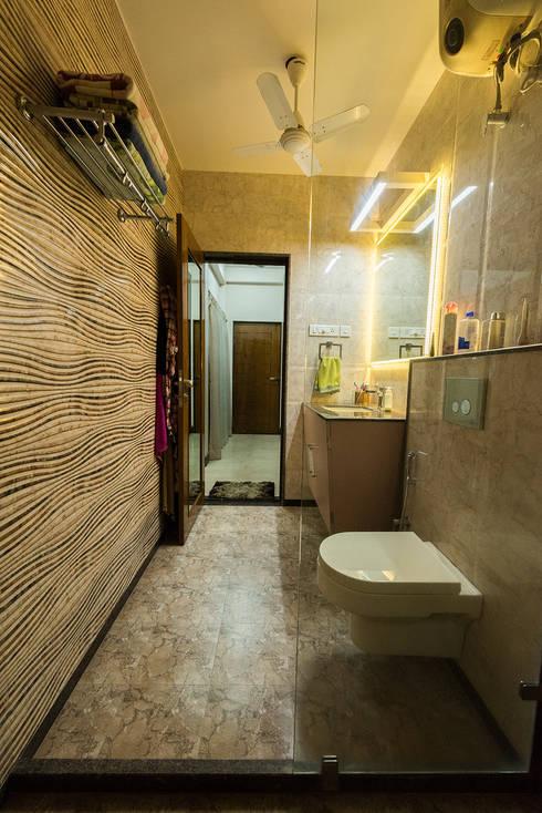 Sanchetna:  Bathroom by Ankit Goenka