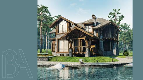 Forest house:  в . Автор – BOOS architects