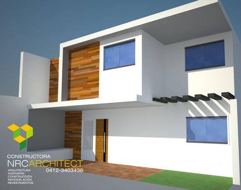 Proyectos de Arquitectura Residencial: Anexos de estilo moderno por Constructora NRC ARCHITECT C.A.