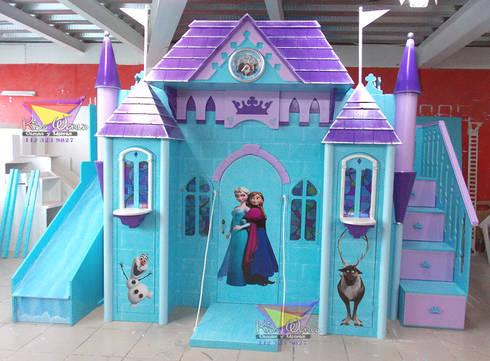 Recamaras para princesas por camas y literas infantiles - Caballeros y princesas literas ...