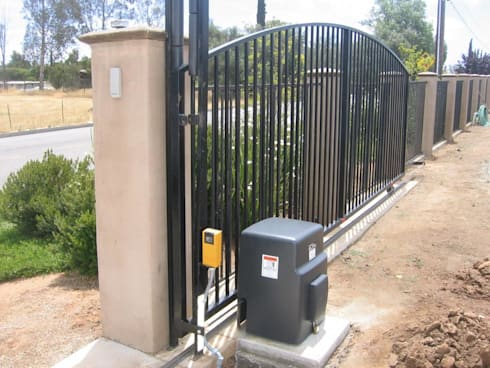 Security Gate Automation:   by Cape Town Security Gates