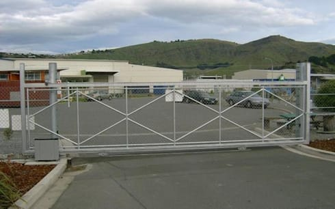Commercial Security Gate Installation:   by Cape Town Security Gates