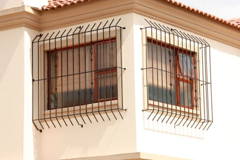 Durable Burglar Bars:   by Cape Town Security Gates