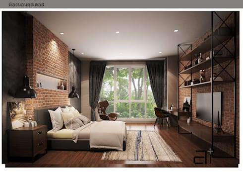 INTERIOR DESIGN THE RESIDENCE 3:  ตกแต่งภายใน by  good space  plus interiror- architect co.,ltd