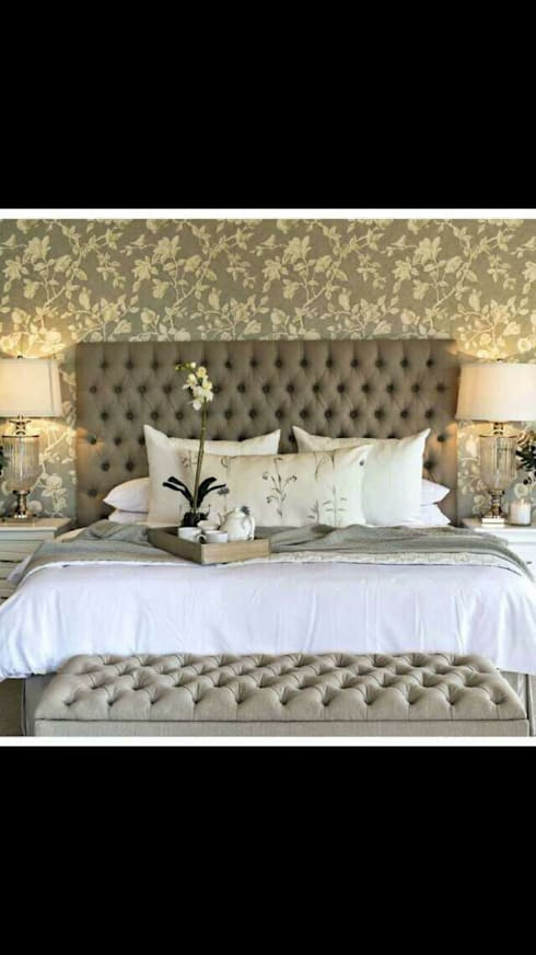 Customer made Furniture , Headboards: modern Bedroom by Instyle Decorators