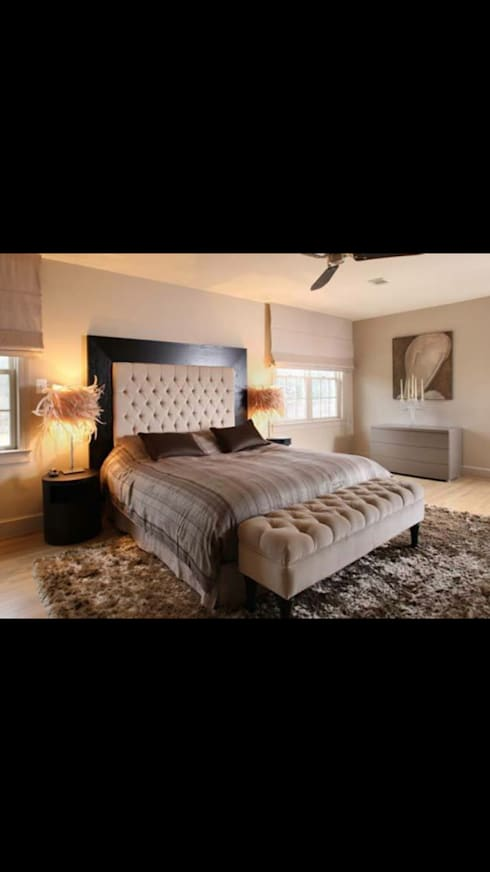 Projects Completed : modern Bedroom by Instyle Decorators