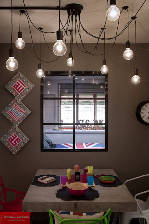 JELAPANG ROAD (BLOCK 502)—Posh Home: minimalistic Bedroom by Posh Home