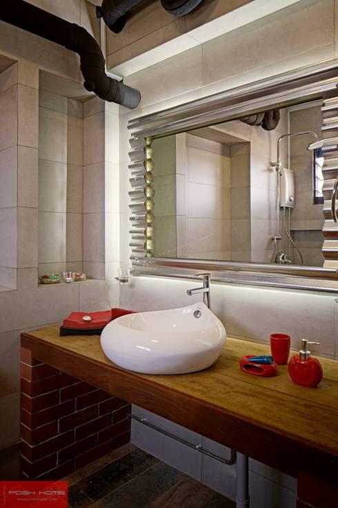 JELAPANG ROAD (BLOCK 502)—Posh Home: minimalistic Bathroom by Posh Home