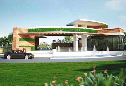 MONTANYA LAKE HILL:   by OA66 Architect