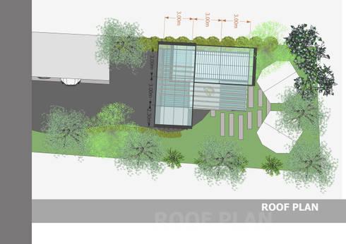 บ้านตู้คอนเทนเนอร์:  บ้านและที่อยู่อาศัย by No.13 Design