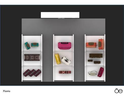 Office spaces & stores  by Interiorista Teresa Avila