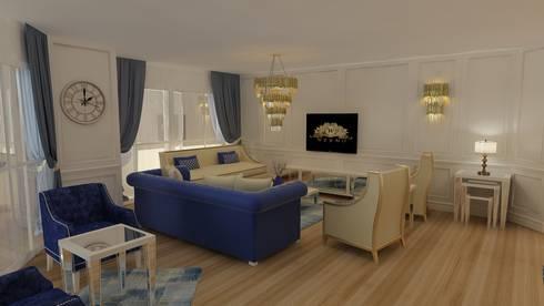 Weymo Mobilya Proje: classic Living room by Weymo Mobilya