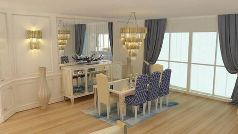 Weymo Mobilya Proje: classic Dining room by Weymo Mobilya