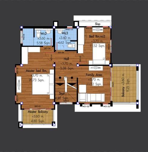 แบบบ้าน <q>HSD 3-02</q>:   by บริษัทโฮมสแตนดาร์ดหาดใหญ่ จำกัด