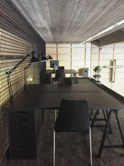 wohnly referenzprojekt loft stil b ro mit ikea m bel. Black Bedroom Furniture Sets. Home Design Ideas