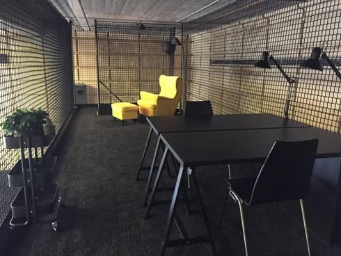 Ikea Mobel Gunstig ~ Wohnly referenzprojekt loft stil büro mit ikea möbel