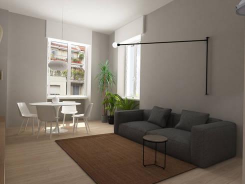 casa matilde by euga design studio | homify - Design Soggiorno Pranzo