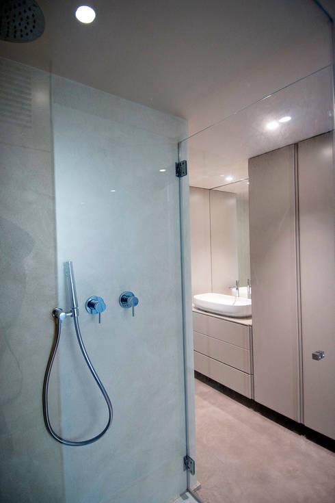 ห้องน้ำ by studio di architettura DISEGNO