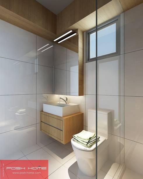 Bath Room - Tempanise Central: modern Bathroom by Posh Home