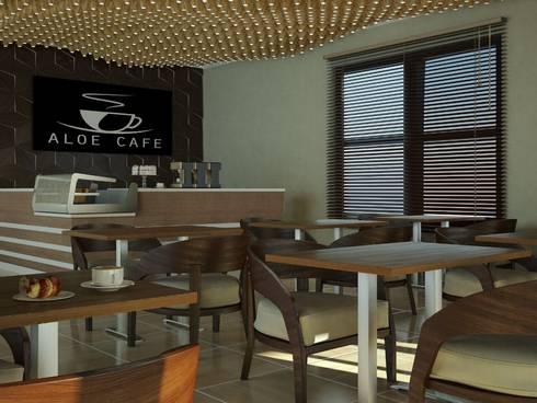 Modern Dining Space: modern Dining room by Linken Designs