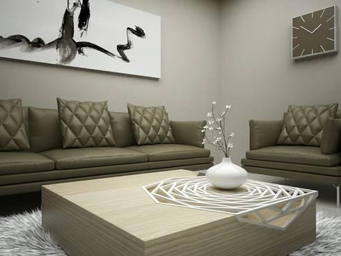 Luxury Living Room: modern Living room by Linken Designs