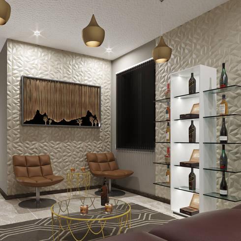 Modern Living Room: modern Living room by Linken Designs