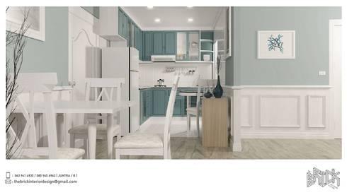 Renovate Fortune Condo Town:   by The Brick Interior Design