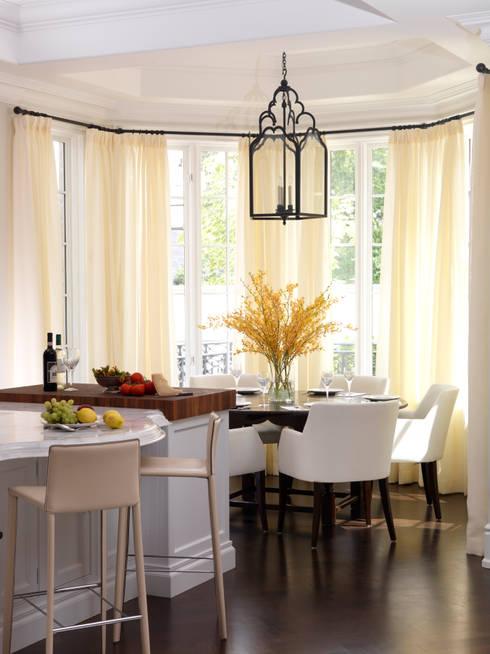 Breakfast Room:  Kitchen by Douglas Design Studio