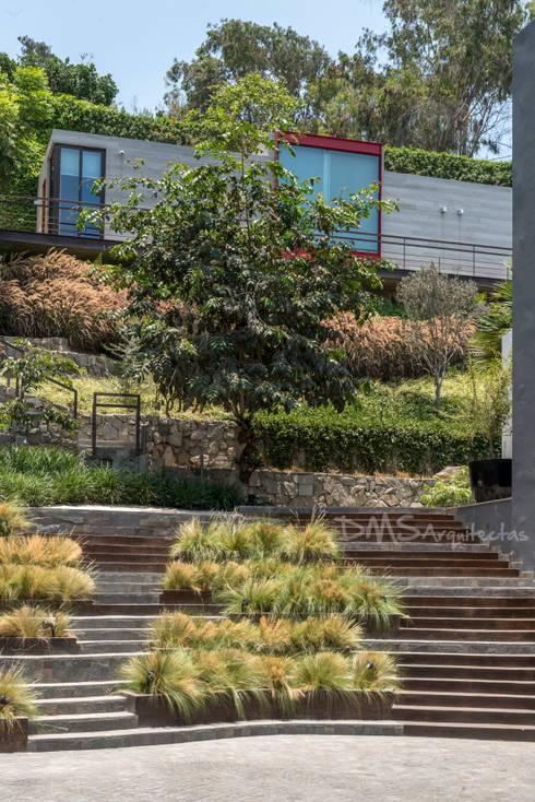 ANDENES: Casas de estilo moderno por DMS Arquitectas