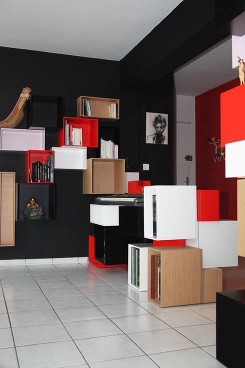 Appartement r nov lyon avec meuble sur mesure et jeux for Appartement meuble lyon