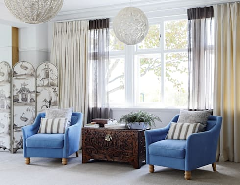 Main Bedroom: classic Bedroom by Natalie Bulwer Interiors