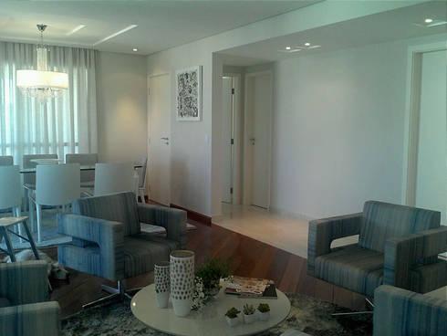 modern Living room by Patricia Armellei Arquitetura