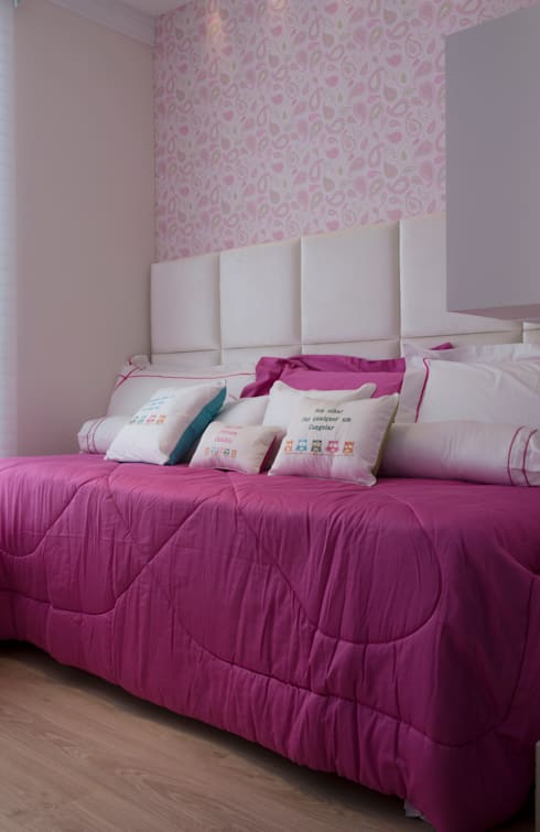 Детские комнаты в . Автор – Karinna Buchalla Interiores