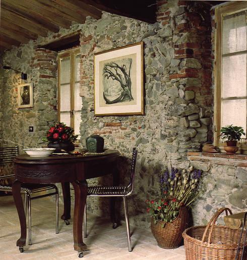 Casa in borgo antico di studio ad g g homify - Casa stile rustico ...