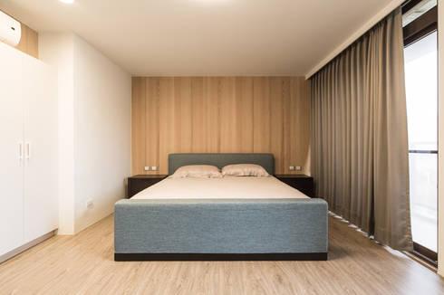 臥室:   by 果仁室內裝修設計有限公司