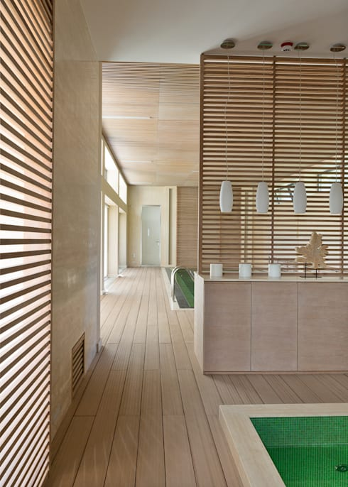 minimalistic Spa by Olga Stupenko Design