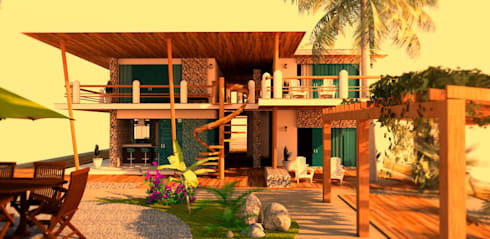 tropical Houses by JL Arquitectos
