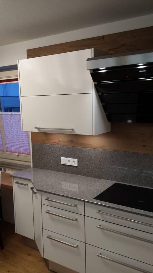 Kochinsel Schmaler Raum ~ schmaler raum platz für eine 2 zeilige küche mit essplatz von makowsky homify
