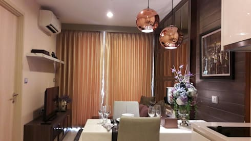 Rhythm condo สุขุมวิท42:   by IDG interior decoration studio Co.,Ltd.