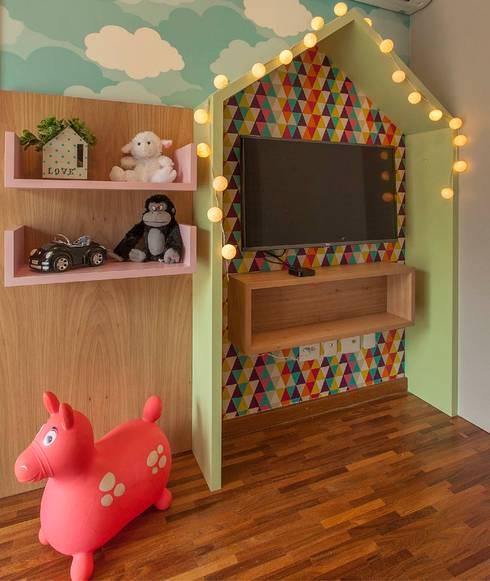 Brinquedoteca: Quarto infantil  por Maira Del Nero Arquitetura e Interiores