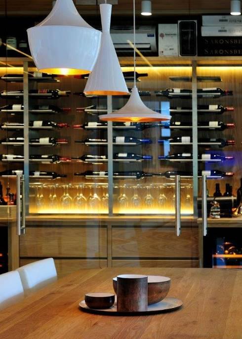 Project Stellenbosch: modern Wine cellar by Dear Zania Interiors