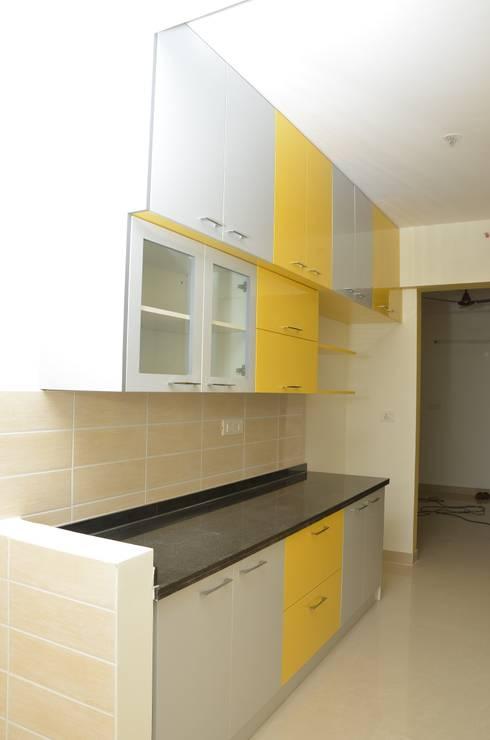 Modular Kitchen Designs Catalogue: asian Kitchen by Scale Inch Pvt. Ltd.