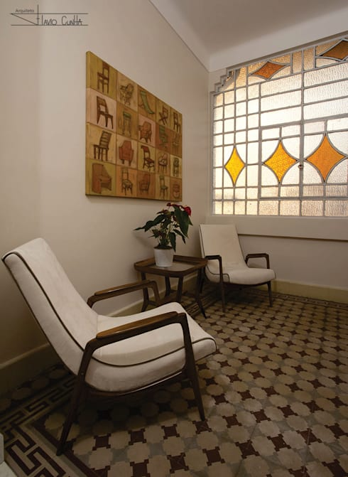 Residencial Liberdade: Salas de estar  por SET Arquitetura e Construções