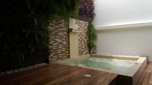 Fotos Varias de jardines – Barranquilla: Terrazas de estilo  por ecoexteriores