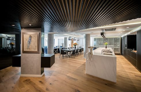 Luxurious Clifton Apartment: modern Dining room by Inhouse